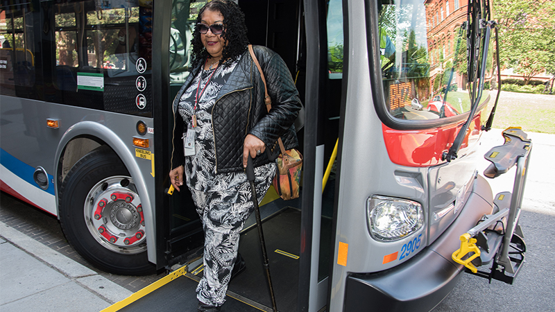metrobus accessible ramp 450