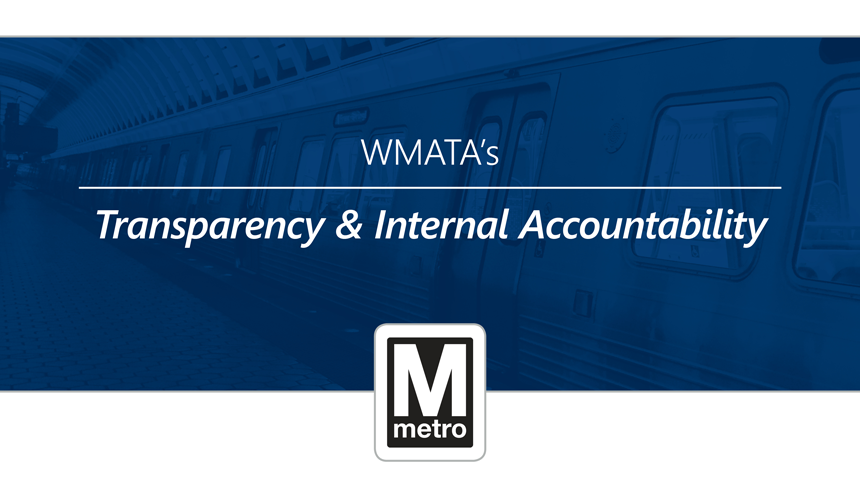 WMATA's Transparency & Internal Accountability