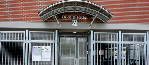Bike & Ride facility at College Park