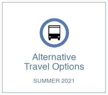 Alternative Travel Options Summer 2021